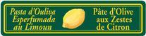 Pâte d'Olive aux zestes de Citron